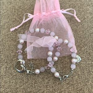 """Jewelry - Adorable """"mommy & me"""" matching bracelets (NWOT)"""